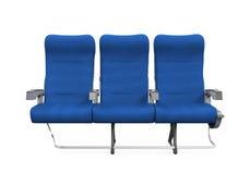 Assentos do avião isolados Imagens de Stock Royalty Free