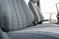 Assentos do carro imagens de stock