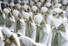 Assentos do casamento Fotos de Stock Royalty Free
