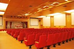 Assentos do cinema imagem de stock