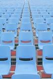Assentos do concerto que são vagos Foto de Stock
