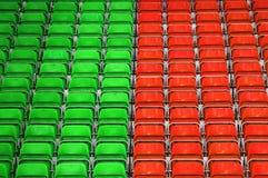 Assentos do estádio Imagem de Stock Royalty Free
