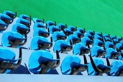 Assentos do estádio Imagens de Stock Royalty Free