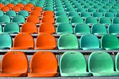 Assentos do estádio Fotos de Stock Royalty Free
