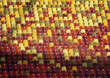 Assentos do estádio de futebol Imagens de Stock