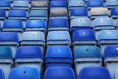 Assentos do futebol Imagens de Stock Royalty Free
