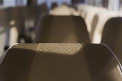 Assentos do ônibus Fotografia de Stock Royalty Free