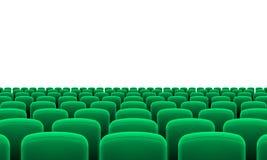 Assentos do teatro Fotos de Stock Royalty Free