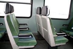 Assentos do trem Imagens de Stock Royalty Free