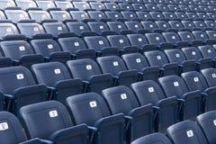 Assentos dos plásticos Fotos de Stock Royalty Free