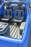 Assentos duplos na parte de trás de um camionete para offroading Fotografia de Stock