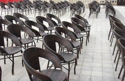 Assentos fora Imagens de Stock Royalty Free