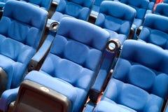 Assentos no cinema Fotos de Stock Royalty Free