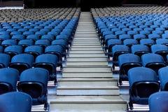 Assentos no estádio imagens de stock royalty free