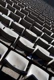 Assentos no estádio Imagem de Stock