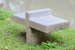 Assentos no jardim Fotografia de Stock