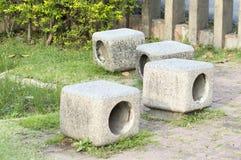 Assentos no jardim Fotografia de Stock Royalty Free