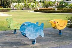 Assentos no jardim Imagem de Stock Royalty Free