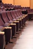 Assentos no teatro Imagem de Stock