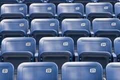 Assentos plásticos Imagens de Stock Royalty Free