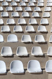 Assentos plásticos Fotos de Stock