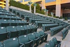 Assentos vazios do Bleacher fotos de stock