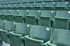 Assentos verdes Fotografia de Stock Royalty Free