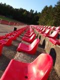 Assentos vermelhos Imagens de Stock