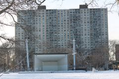 Asser Levy Park is part of the Coney Island Complex. One of the earliest beach resorts, Coney Island began attracting visitors after the construction of the Royalty Free Stock Images