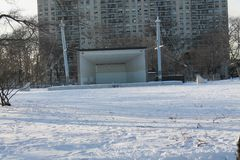 Asser Levy Park is part of the Coney Island Complex. Royalty Free Stock Photography