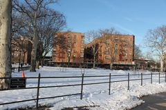 Asser Levy Park is part of the Coney Island Complex. One of the earliest beach resorts, Coney Island began attracting visitors after the construction of the Stock Images