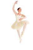 Assertive ballerina training Stock Photo