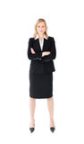 Assertive businesswoman looking at the camera Stock Image