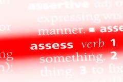 assess lizenzfreies stockfoto