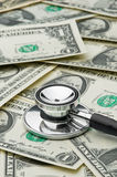 Assessing economy's health, costs of medical care Stock Photography