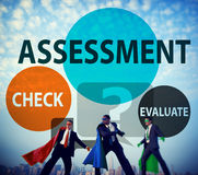 Assessment Calculation Estimate Evaluate Measurement Concept.  stock photography