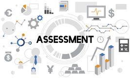 Assessment Evaluation Analysis Management Report Concept Stock Image