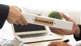 assessment Stock Image