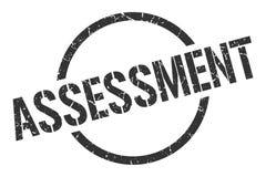 Assessment stamp. Assessment round grunge stamp. assessment sign. assessment stock illustration