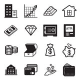 Asset icons Stock Photography
