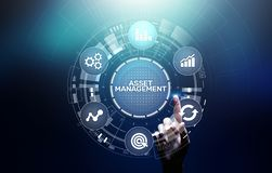 Free Asset Management Concept On Virtual Screen. Business Technology Concept. Royalty Free Stock Photo - 145014975