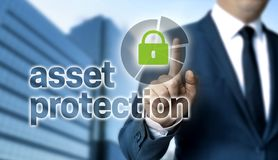 Free Asset Protection Concept Is Shown By Businessman Stock Photo - 159933410