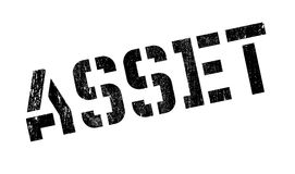 Asset rubber stamp Stock Images
