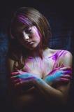 Assetato per i colori immagine stock libera da diritti