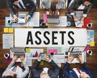 Assets Accounting Benefit Bonus Budget Value Concept Stock Photos