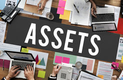 Assets Accounting Benefit Bonus Budget Value Concept Royalty Free Stock Images
