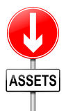 Assets concept. Royalty Free Stock Images