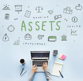 Assets Property Holdings Goods Capital Budget Concept Stock Photo