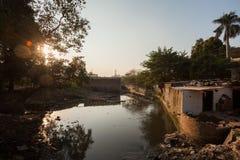 Assi River, Varanasi Stock Image
