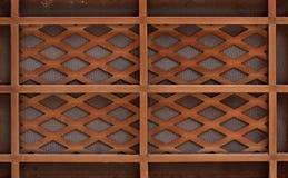 Assicella di legno Immagine Stock Libera da Diritti